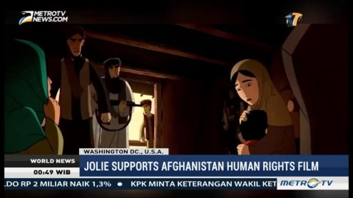 Angelina Jolie Supports Afghanistan Human Rights Film