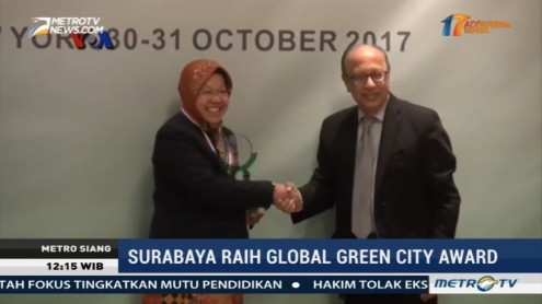 Surabaya Raih Penghargaan Global Green City