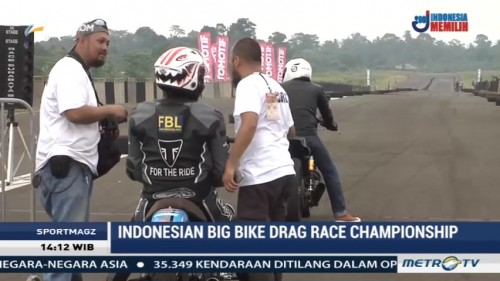 Serunya Ajang Balap Indonesian Big Bike Drag Race Championship 2017