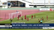 Highlight Kualifikasi Piala Asia, Malaysia vs Indonesia