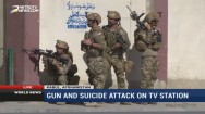 IS Suicide Bomber Attack Local TV Station in Kabul