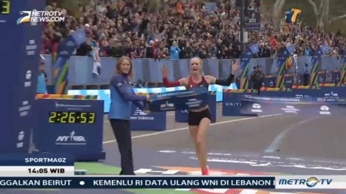 Shalane Flanagan Juara New York City Marathon