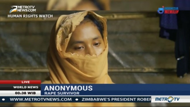 Report: Myanmar Security Forces Using Sexual Violence as Scare Tactic