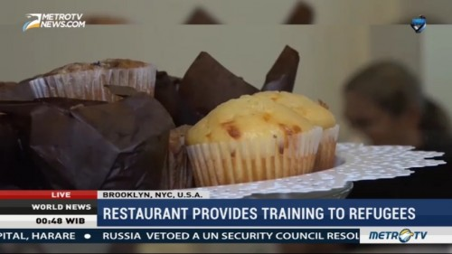 Brooklyn Restaurant Provides Culinary Training to Refugees