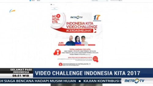 Terpilih 10 Video Terbaik Indonesia Kita Video Challenge