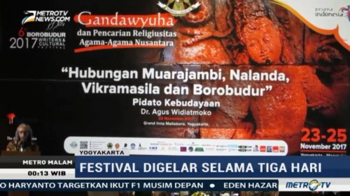 Borobudur Writers and Cultural Festival Kembali Digelar