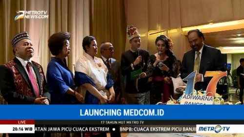 Media Group <i>Launching</i> Medcom.id dan MetroXtend