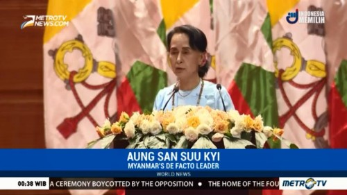 Suu Kyi Addresses Rohingya Issue