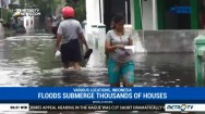 Floods Submerge Thousands of Houses in Porong