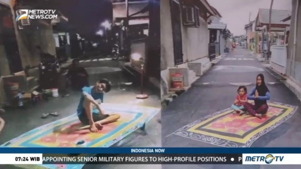 3D Paintings for Safer Streets