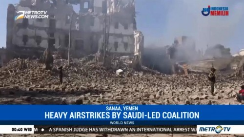 Saudi Airstrikes Pound Yemen Capital After Ex-President Saleh Killed