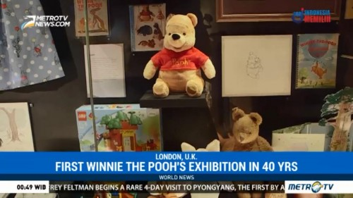 First Winnie The Pooh's Exhibition in 40 Years