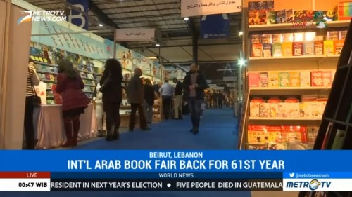 International Arab Book Fair Back for 61st Year