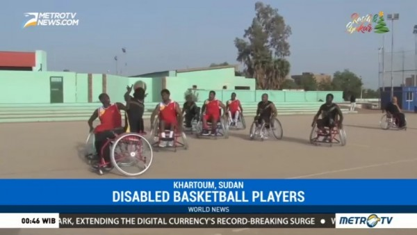Sudan Disabled Basketball Players