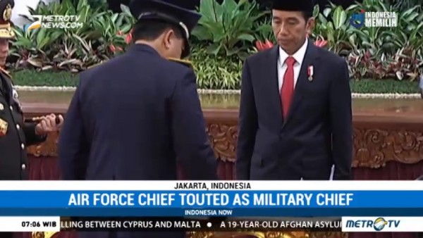 Air Force Chief Touted as Military Chief