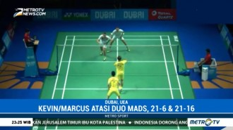 BWF Super Series Finals, Marcus/Kevin Sukses Taklukkan Duo Denmark