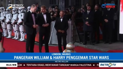 Pangeran Harry dan William Turut Berperan di Film Star Wars: The Last Jedi