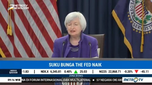 Suku Bunga The Fed Naik