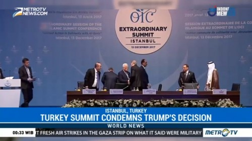 Turkey Summit Condemns Trump's Decision