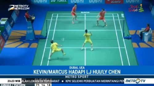 Kevin/Marcus Melaju ke ke Semi Final Super Series Finals