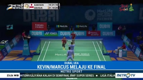 Kevin/Marcus Melenggang ke Final Super Series Finals