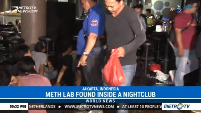 Meth Lab Found Inside a Nightclub