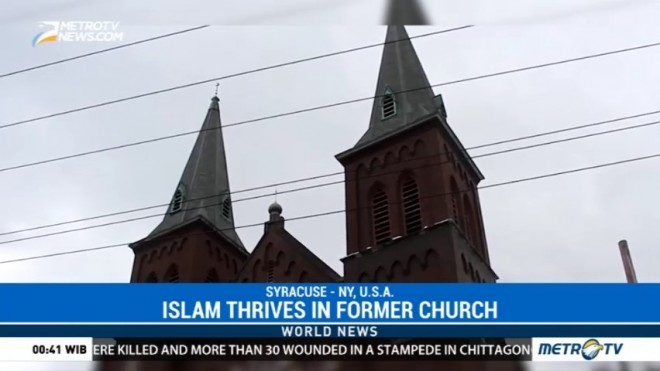 Islam Thrives in Former US Church