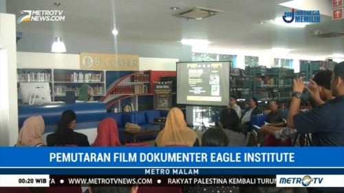 Pemutaran Film Dokumenter Eagle Institute di Universitas Budi Luhur