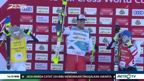 Bischofberger Juara Freestyle Skiing World Cup Ski Cross