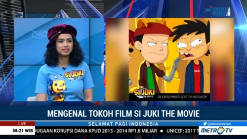 Mengenal Tokoh Film Si Juki The Movie (1)