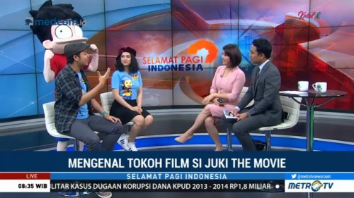 Mengenal Tokoh Film Si Juki The Movie (2)