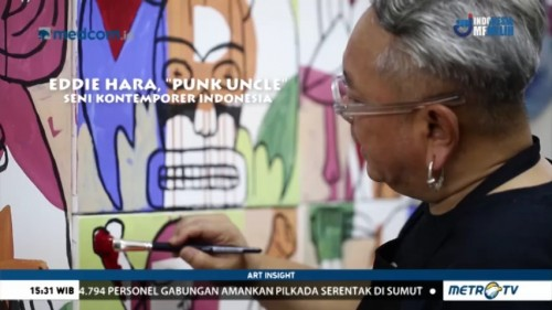 Eddie Hara, 'Punk Uncle' Seni Kontemporer Indonesia (1)