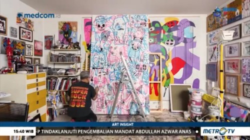 Eddie Hara, 'Punk Uncle' Seni Kontemporer Indonesia (2)
