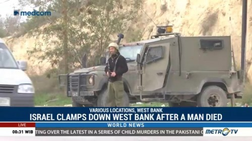 Israel Clamps Down West Bank After a Man Died