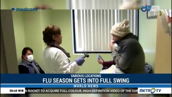U.S. Flu Season Gets Into Full Swing