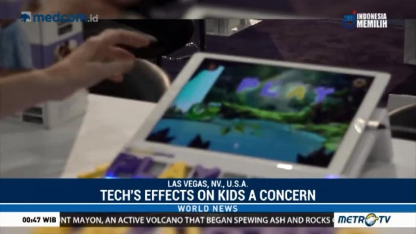 Tech's Effects on Kids a Concern at Consumer Electronics Show