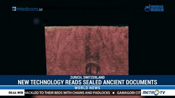 New Tech Reads Sealed Ancient Documents Without Opening Them