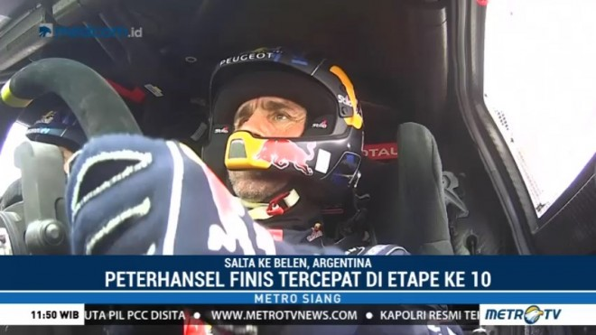 Peterhansel Finis Tercepat di Etape 10 Dakar Rally