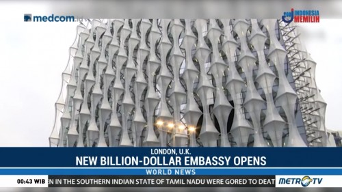 New Billion-Dollar US Embassy in London Opens