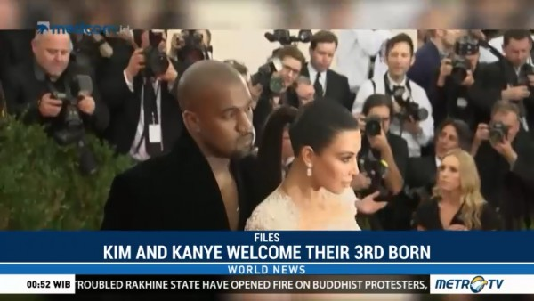 Kim and Kanye Welcome Their Third Born