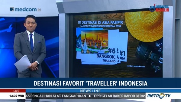 Ini Daftar Destinasi Favorit <i>Traveller</i> Indonesia