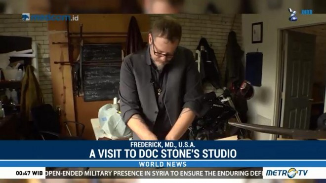 A Visit to Doc Stone's Studio