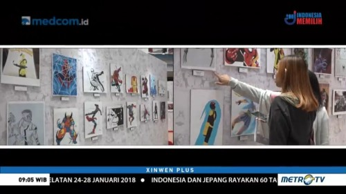 Kemeriahan Marvel Creative Day Out 2018