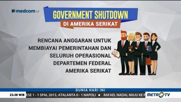 Apa Itu <i>Government Shutdown</i>?