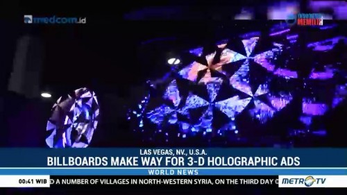 Traditional Billboard Make Way for 3-D Holographic Ads