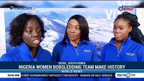 Nigeria Women Bobsledding Team to Make History as First Africa Team at Winter Olympics