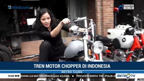 Tren Motor Chopper di Indonesia