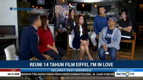 Reuni 14 Tahun Film Eiffel I'm In Love (1)
