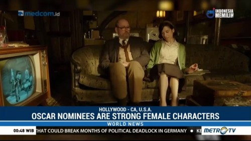 Oscar Nominations Point to Strong Female Characters