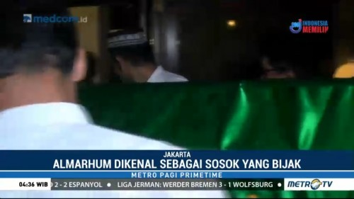 Mantan Gubernur Bank Indonesia Rachmat Saleh Tutup Usia